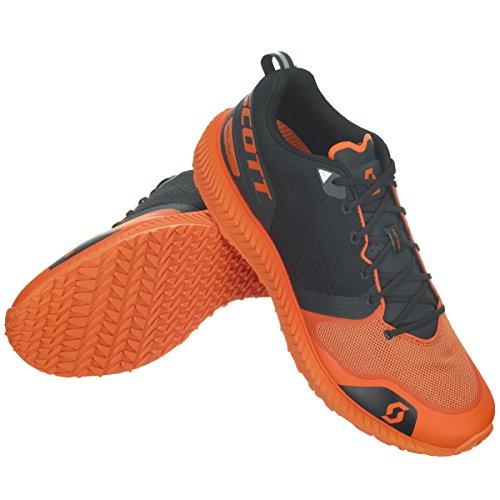 PALANI Orange hommes Scott Noir Course Noir chaussures 7 1S6q6w5
