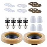 iFealClear 2 Sets Toilet Wax Ring Kit With