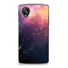 Case for Nexus 5, CasesByLorraine Abstract Galaxy Sky Stardust Space Nebula Case Plastic Hard Cover for LG Google Nexus 5 (P23)