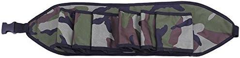 Couleur : Brown Ceinture pour porte-bi/ère Delaman Ceinture pour 6 bouteilles de canettes de bi/ère 4 couleurs Ceinture pour bi/ère