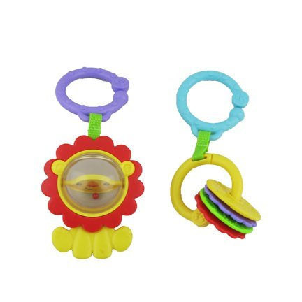 Fisher-Price Sit-Me-Up Floor Seat with Tray - Replacement Hanging Toys Fisher Price