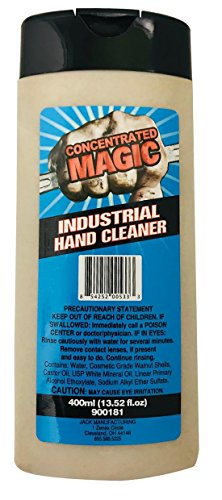 Concentrated Magic 900181 Walnut Based Hand Cleaner, 400 mL Bottle