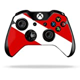 Cheap Protective Vinyl Skin Decal Cover for Microsoft Xbox One/One S Controller wrap sticker skins Scuba Flag