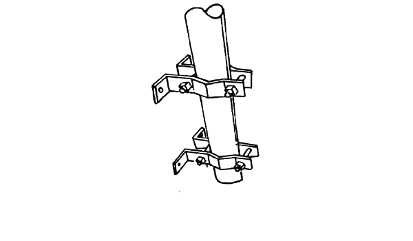 Universal clamp set UPS pole FRS RFS