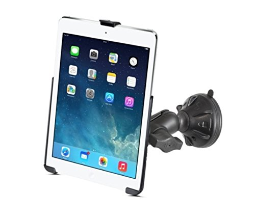 RAM Short Arm Suction Cup Mount for Apple iPad Air 1 2 & Apple iPad 5th Generation & Apple iPad Pro 9.7