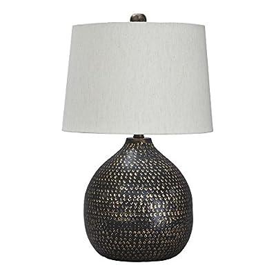 Ashley Furniture Signature Design - Maire Metal Table Lamp