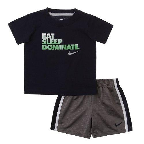 fb54d4bb8 Amazon.com: Nike Eat, Sleep, Dominate Tee & Shorts Set - Baby: Everything  Else