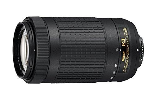 Nikon 70-300mm f/4.5-6.3G DX AF-P ED Zoom-Nikkor Lens - (Renewed) (Nikon D200 Lenses)