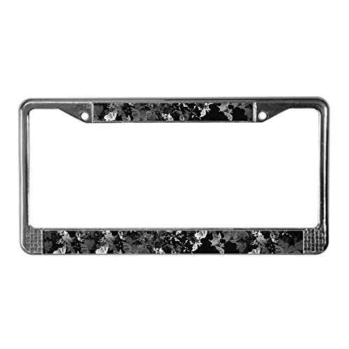 CafePress - Vampire Bats License Plate Frame - Chrome License Plate Frame, License Tag Holder (Buffy Halloween Special)