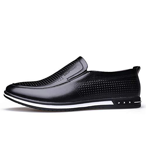 personality Chaussures Xiangbao De Hollow Ville À Black Pour Homme Lacets 39 apfq4