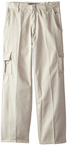 U.S. Polo Assn. Boys' Twill Pant (More Styles Available), Cargo Khaki, 16 - Khaki Cargo Style Pants