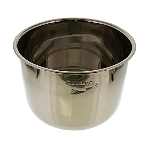 Cheftor 6QT Stainless Steel Removable Electric Pressure Cooker Cooking Pot Insert by Cheftor (Image #1)