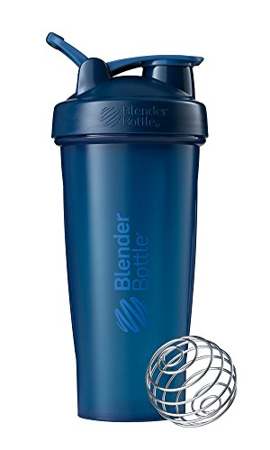 BlenderBottle Classic Loop Top Shaker Bottle, 28-Ounce, Navy/Navy