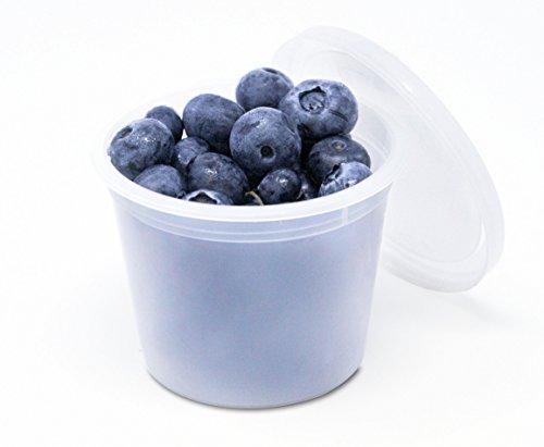 4oz plastic containers - 6