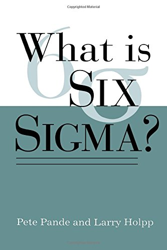 Read Online What Is Six Sigma? pdf