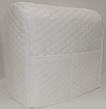 Pennys Needful Things Quilted Cover Compatible with Kitchenaid Stand Mixer Aqua Blue, 3.5 qt Artisan Mini Tilt Head