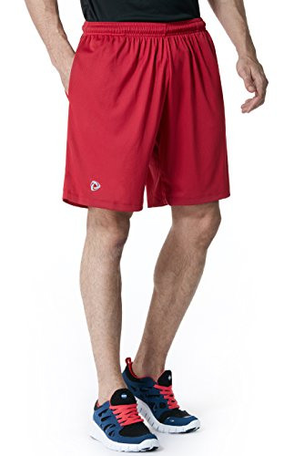Tesla Men's Active Shorts Sports Performance HyperDri II With Pockets MBS01/MBS02/MBS03