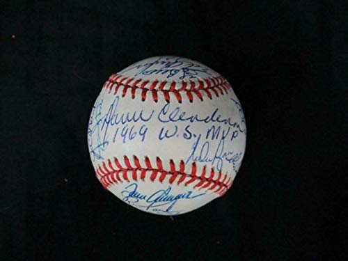 1969 New York Mets Team -Autographed Signed Memorabilia Baseball Autograph Auto - PSA/DNA Authentic