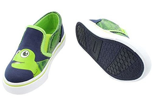 FISH FLOPS Navy/Lime Fowler Nessa Toddler Shoes Size 11 ()