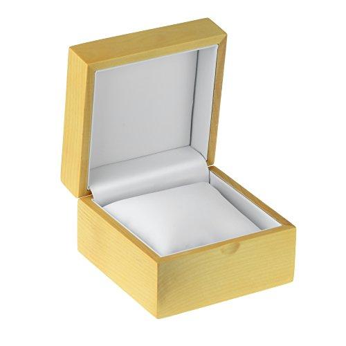 Geff House Maple Wood Watch / Bracelet Jewelry Presentation Display Gift Box