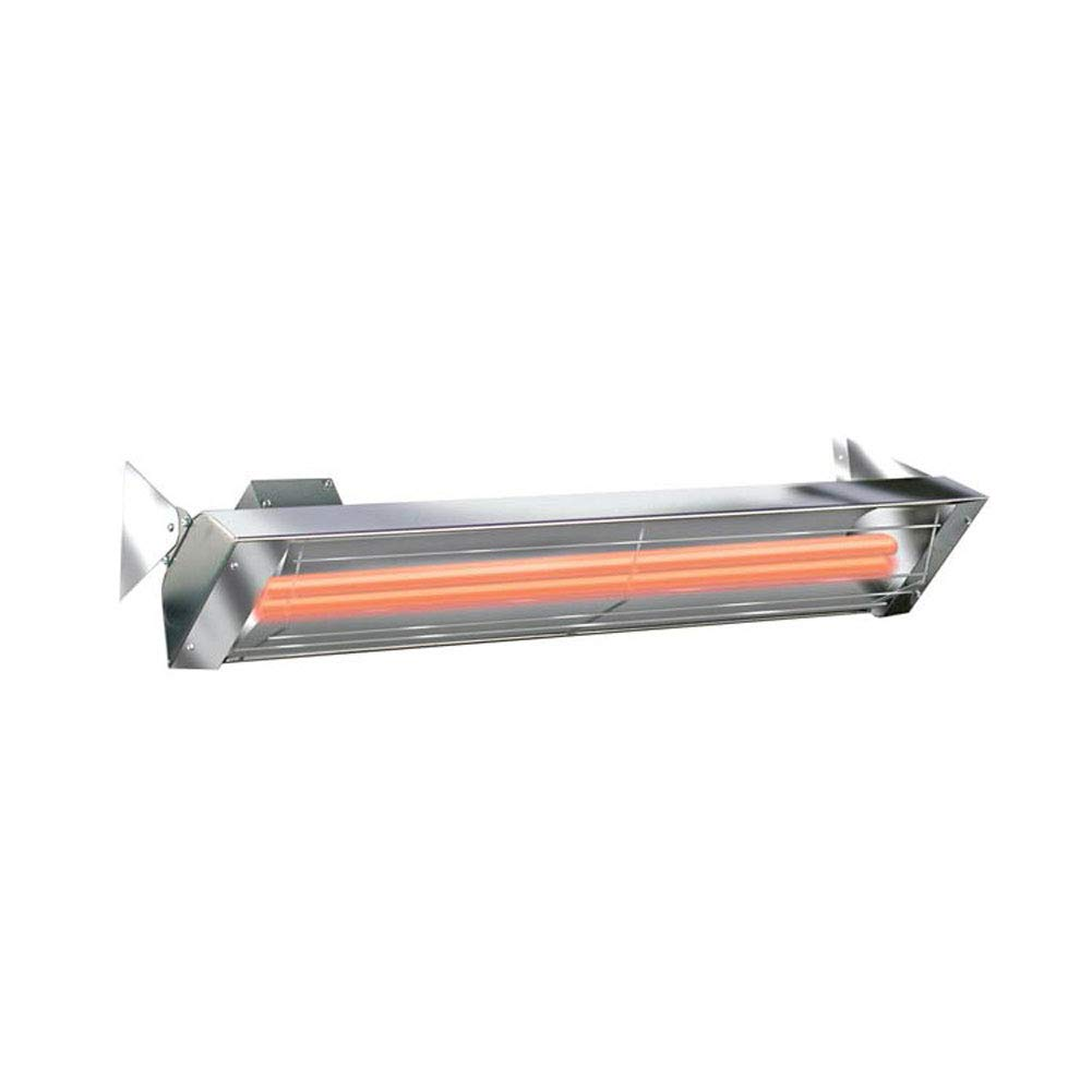 Infratech WD3024SS Dual Element 3,000 Watt Electric Patio Heater, Choose Finish: Stainless Steel
