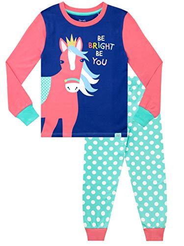 Harry Bear Meisjes Pyjama Nauwsluitend Fit Regenboog Paard