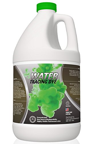 - Green Water Tracing & Leak Detection Flourescent Dye - 1 Gallon