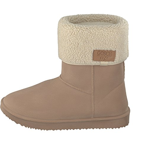 Gosch Shoes Sylt - Mujer Botas De Goma mareas forro cálido en 2 colores Talla 35-45 camello