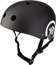 MONATA Skateboard Bike Helmet, Skate Scooter Helmet for Youth Adults Teens, Multisport Roller Skating Skateboa