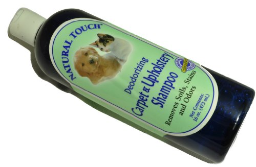 Nilotron Natural Touch Pet Deodorizing Carpet And Upholstery (Naturals Deodorizing Shampoo)