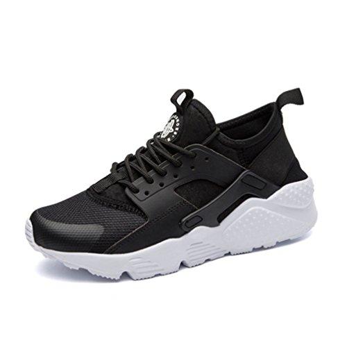 Qianliuk Shoes Schwarz Sneakers Casual Frau Basketball Laufschuhe Mesh Plattform r01FUvrwq