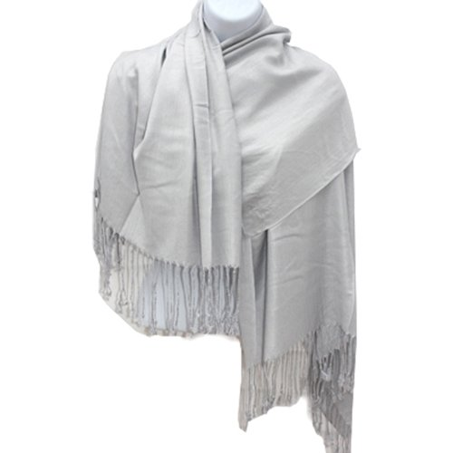 Silver Fever Nepal Solid Pashmina