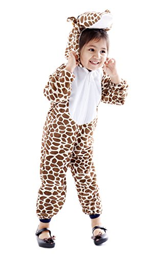 Safari Costume Easy (Spooktacular Toddlers' Safari Animal Halloween Costume Outfit - Giraffe,S)