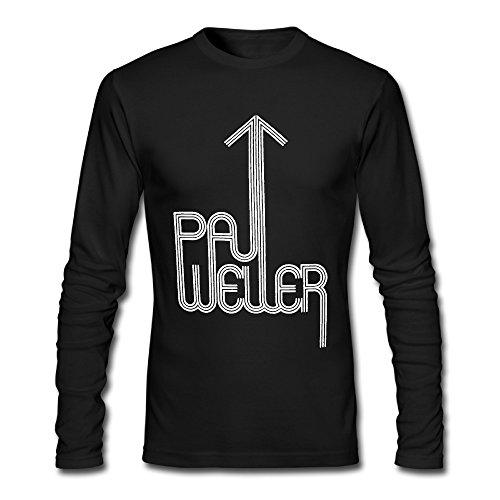 (Paul Weller Shop886 Long Sleeve Adult O Neck Paul Weller.png T Shirt Gifts Nice)