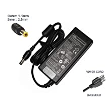 "Laptop Notebook Charger forToshiba PA3468E-1AC3 PA-1750-09 PA3715E-1AC3 PA-3468U-1ACA PA-1750-29 PA-1750-04Adapter Adaptor Power Supply ""Laptop Power"" Branded (Power Cord Included)"