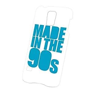 LJF phone case Case Fun Samsung Galaxy S5 (i9600) Case - Ultra Slim Version - Full Wrap Edge to Edge Print - Made in the 90's