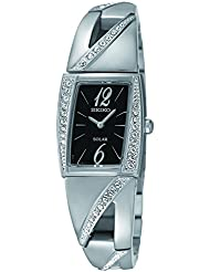Seiko Womens SUP245 Analog Display Japanese Quartz Silver Watch