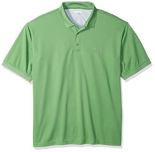 Columbia Men's Perfect Cast Polo Shirt, X-Large Tall, Clean Green ()