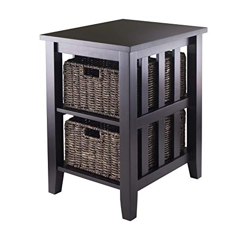 Winsome 92312 Morris Accent Table, Espresso ()