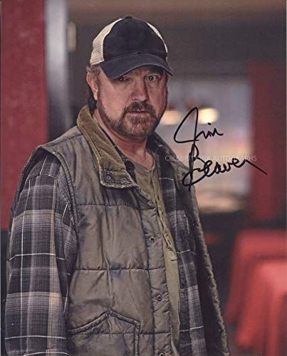 JIM BEAVER as Bobby Singer - Supernatural GENUINE AUTOGRAPH
