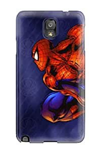 Charles Lawson Brice's Shop Galaxy Note 3 Case Cover - Slim Fit Tpu Protector Shock Absorbent Case (spider-man) 7147253K52690508