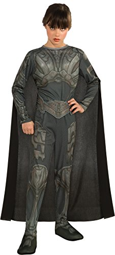 Man of Steel Child's Faora Costume, Large -
