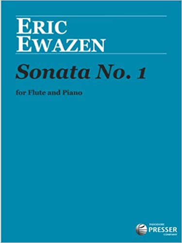 Book Sonata No. 1 (for Flute and Piano)