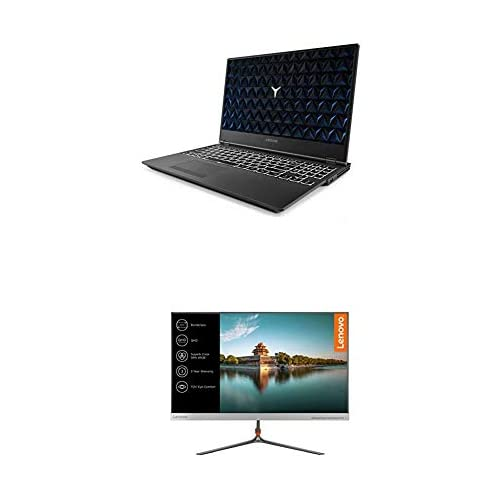 chollos oferta descuentos barato Lenovo Legion Y530 Ordenador portátil gaming 15 6 FullHD Intel Core i5 8300H 8GB de RAM 1TB HDD Nvidia GTX1050 de 4GB Windows10 Monitor Lenovo L24q de 24