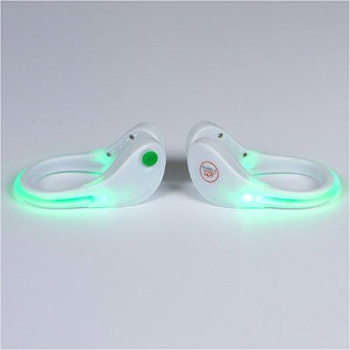 Night Running Gear Shoe Lights Flashing LED Reflective Gear for Runner Jogger