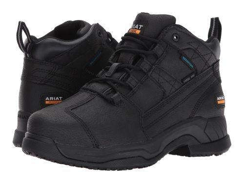 Ariat(アリアト) レディース 女性用 シューズ 靴 ブーツ 安全靴 ワークブーツ Contender ST Brown [並行輸入品] B07BR64X2H 5.5 B Medium