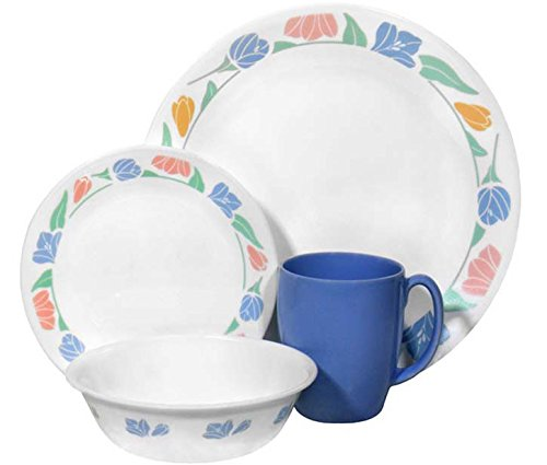 Cheap Corelle Livingware 16-Piece Dinnerware Set, Service for 4, Friendship