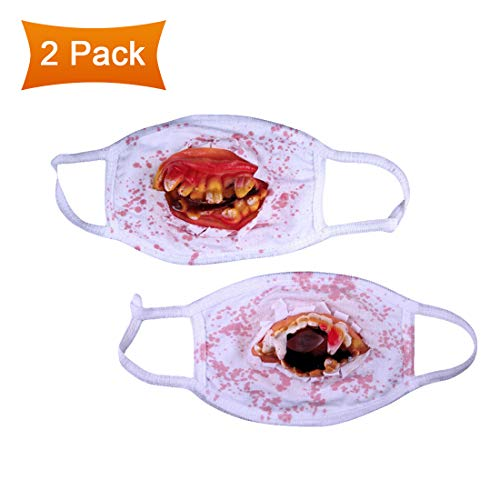 YMCAFZ Halloween Horror Fancy, Dress Face Mask Surgeon Dentist Costume Accessory (Set of -