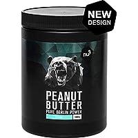 nu3 - Beurre De Cacahuète Onctueux (Peanut Butter) 1kg 100% Beurre d'Arachide - Naturellement Protéiné Sans Sucre Sans Sel Et Sans Huile De Palme Ajoutés - Délicieux En Tartines Ou En Cuisine