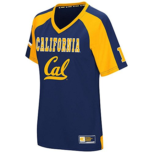 Womens Cal Berkeley Golden Bears Torch Football Fashion Jersey - (Berkeley Jersey)